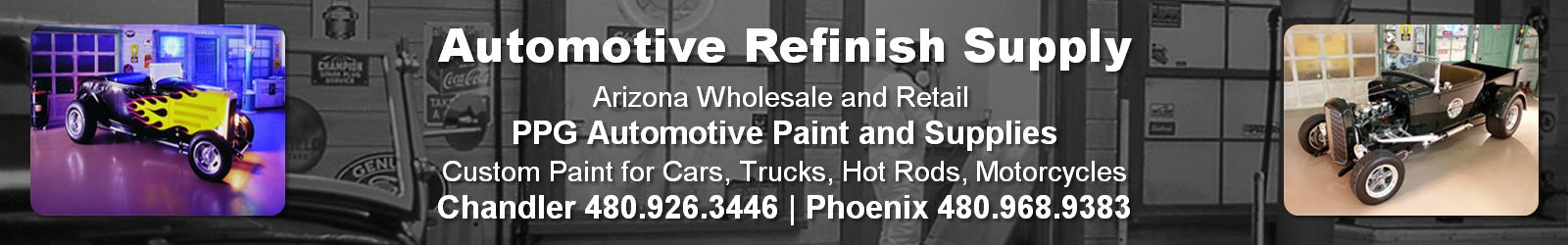 Automotive Refinish Supply - Chandler, Arizona