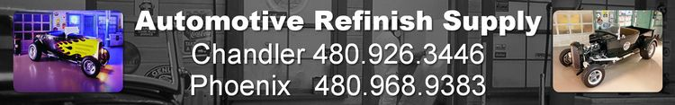 Automotive Refinish Supply - Phoenix, Chandler, Arizona